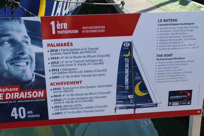 Visite du village et du ponton du Vendée Globe le 25/10/16 879436IMG4591