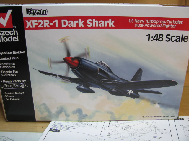 Ryan XF2R-1 Dark Shark Czech Model 1/48.....Terminé! 882139IMG8395