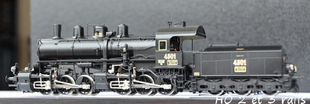 Les locomotives à vapeur articulées 882744Micrometakit030030MAV4501R