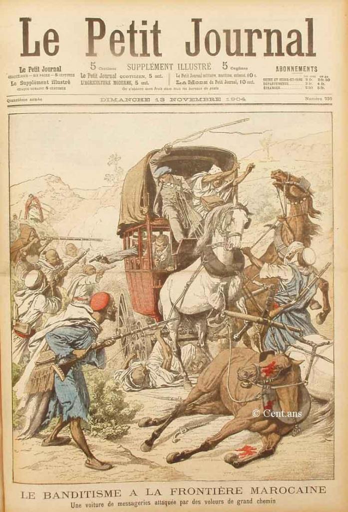 صفحات من تاريخ المغرب الحديث من خلال Le Petit journal illustré 883323pj73013111904