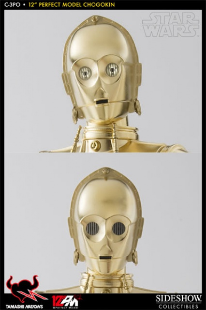 STAR WARS - C3PO - Perfect Model (TAMASHII AND SIDESHOW PERFECT CHOGOKIN) 8847704771