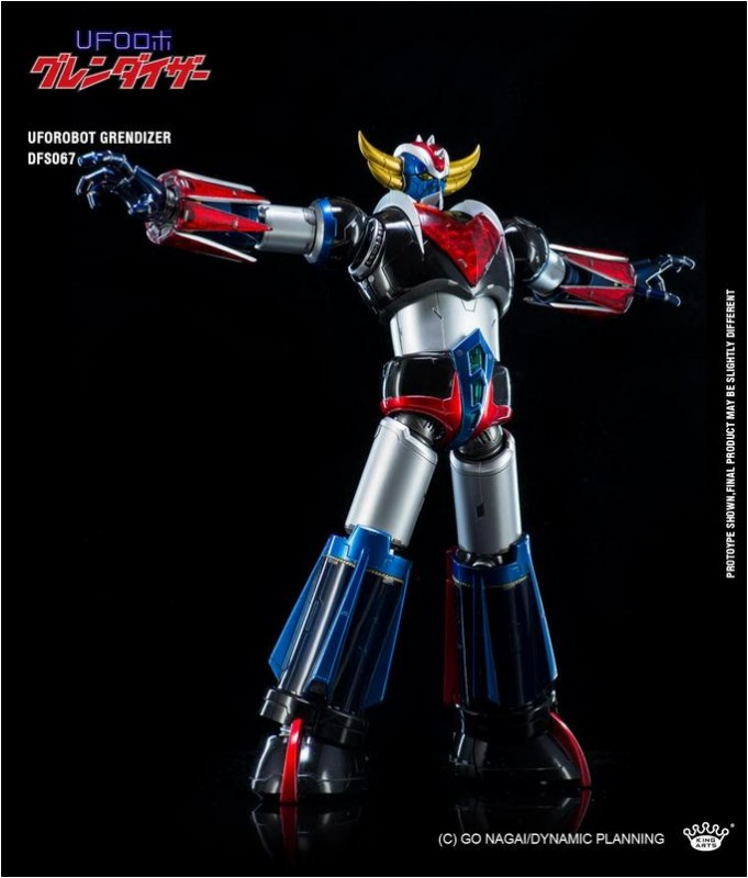 KING ARTS DIE-CAST GRENDIZER   885856DFS0675