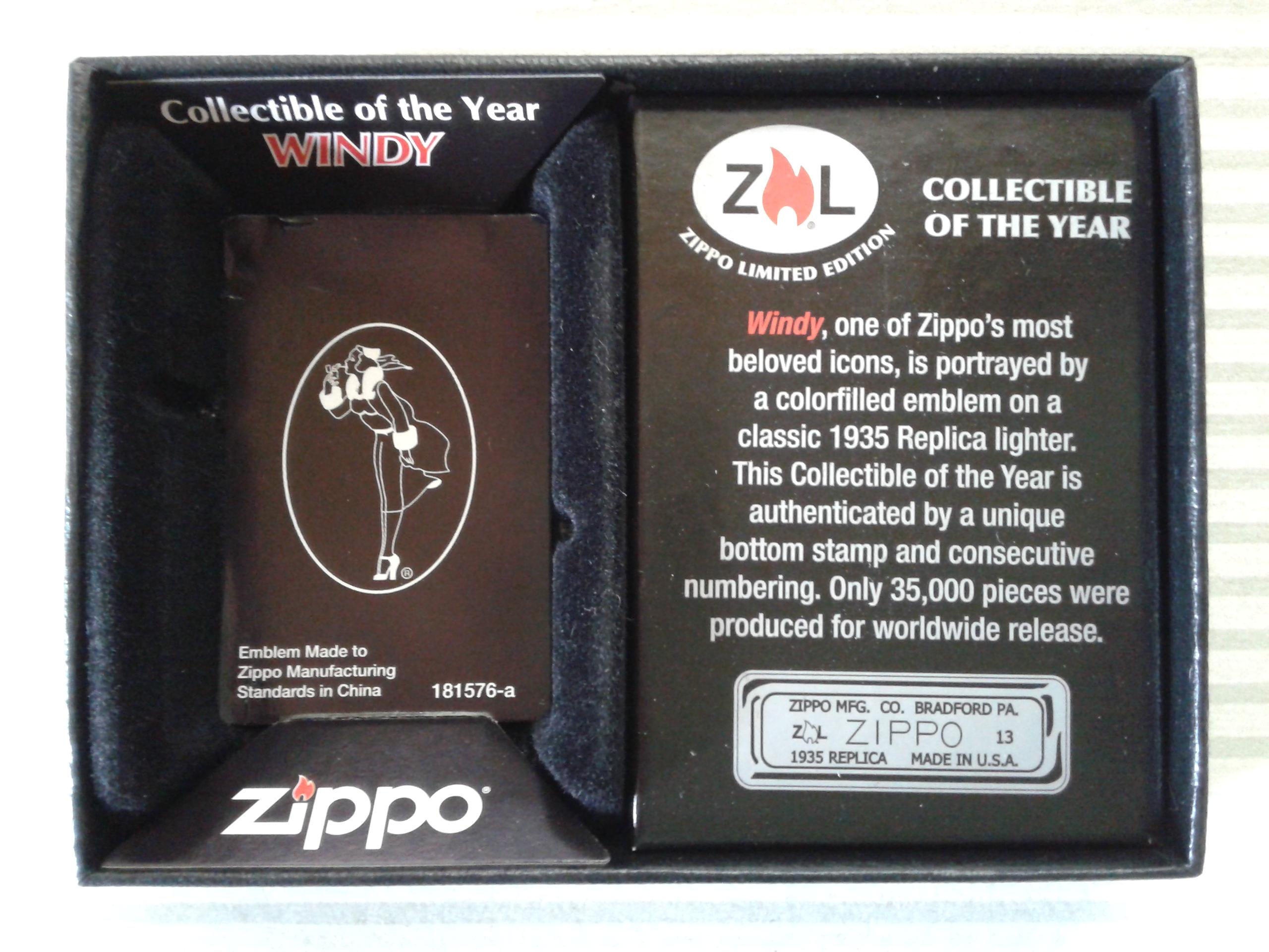 Les boites Zippo au fil du temps - Page 3 886238WindyCOTY20134