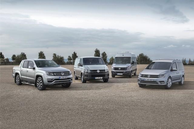 Volkswagen Véhicules Utilitaires : Les livraisons mondiales ont augmenté de 7% au premier semestre  886358hdrangeproduktpalette2016