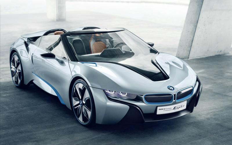 concept car  886465bmwi8spyderconceptcarwide