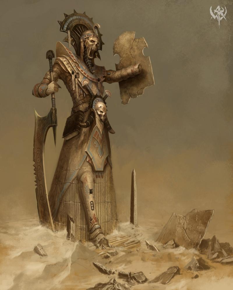 [Khemri] La Légion perdue Arukmatah 886510nagash10