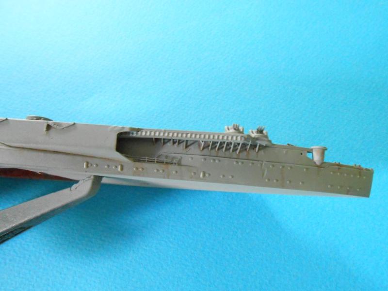 Yamato 1/700 fuji, PE,Pont en bois et babioles - Page 3 887030DSCN6091