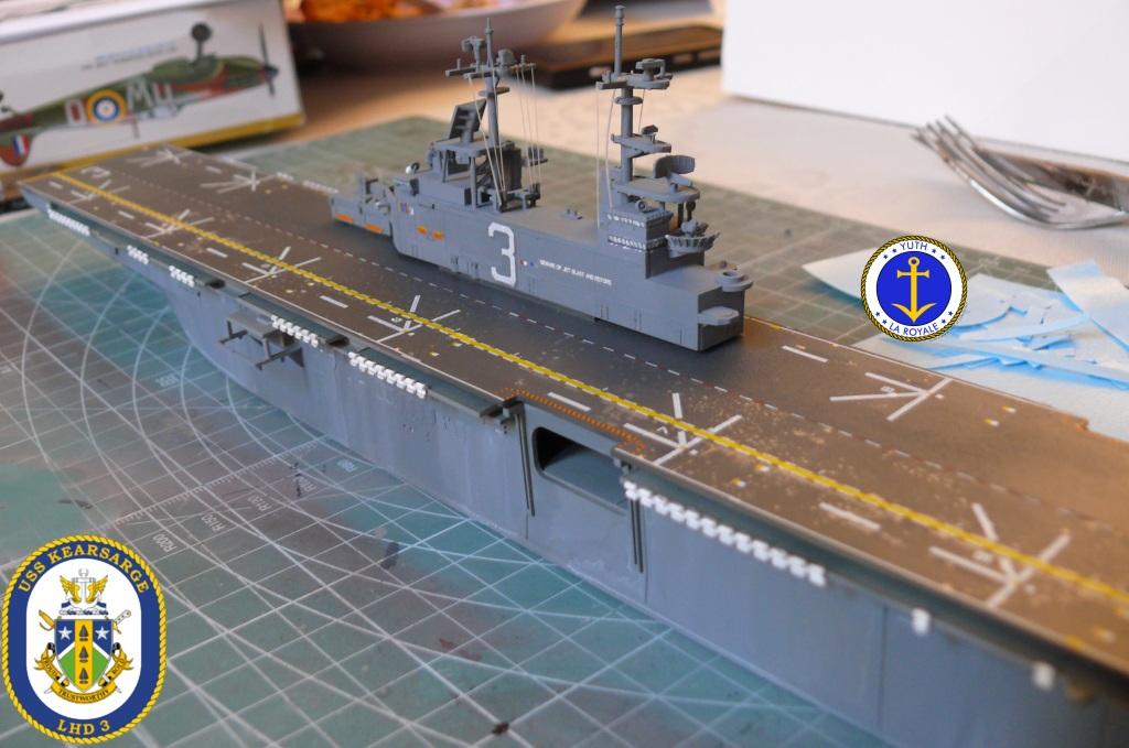 USS KEARSARGE LHD-3 1/700 REVELL 887833Kearsarge34