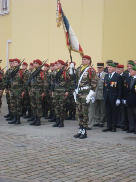 Jebsheim : 60 parachustistes du 1er RCP commémorent la libération de la Poche de Colmar 888421059