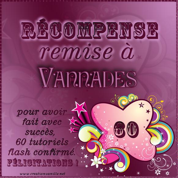 Mes Diplômes et Récompenses - Page 2 888554Vannades60tutosConfirmes