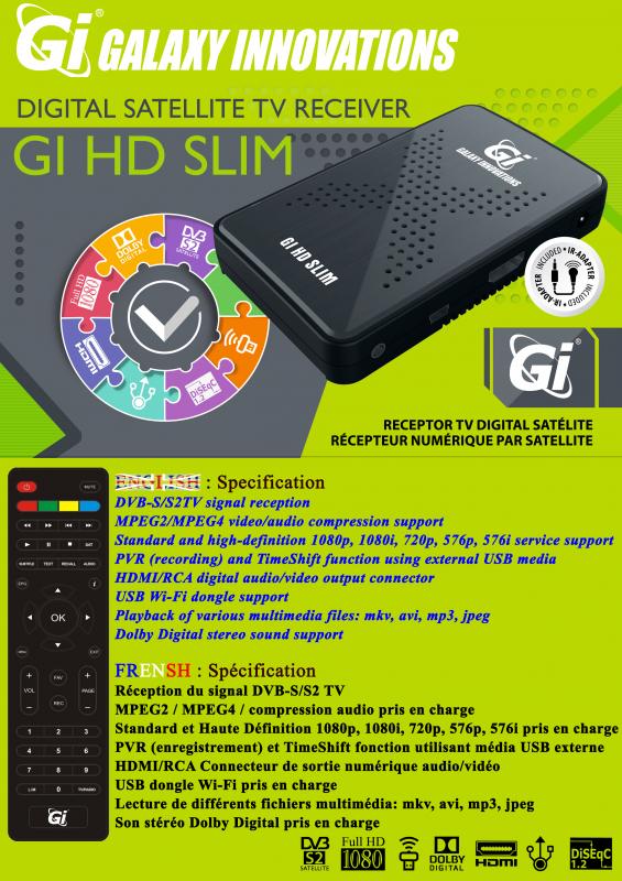 الجهاز الجديد GI HD SLIM 888685FlyerGiHDSlimENFR