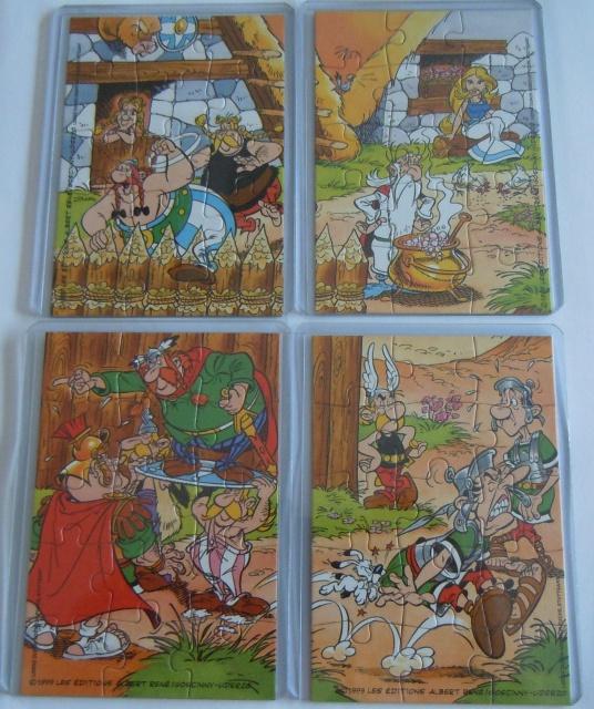 Puzzle kinder Astérix et les Romains 88936835b