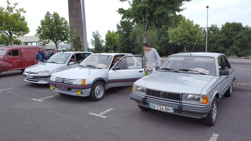 25 Juin - 30ème Rallye de l'Amicale Rétro Peugeot Atlantique 89023220170625Rallyeannuel021