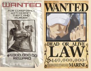 Tatouage, Pirate, Mercenaire, Un Sacré Bordeland  890418wantedlawlilith