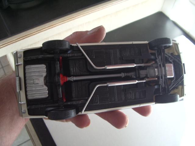 mustang shelby 350 GT 1965  kit monogram 1/24 . 890615IMGP3093