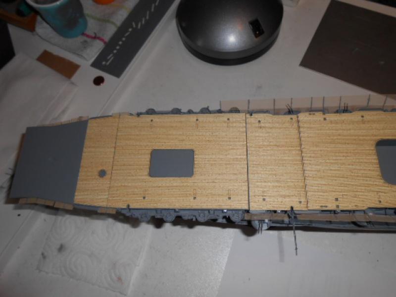 PA AKAGI 1/350 de chez Hasegawa PE + pont en bois par Lionel45 - Page 5 891764akA001