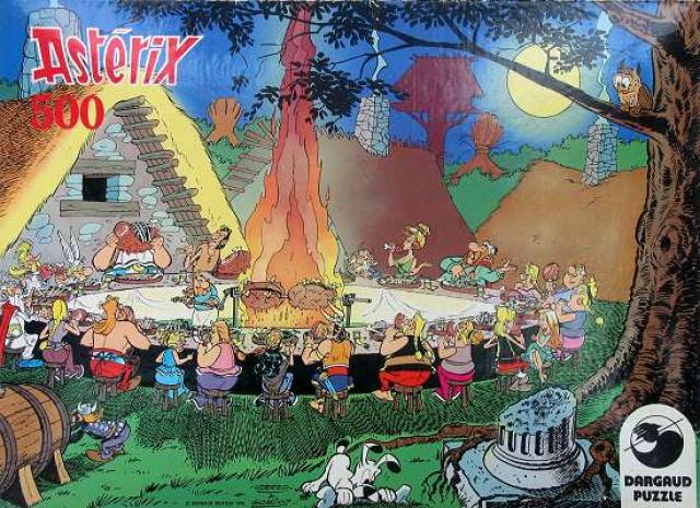 Puzzle Dargaud - Le banquet  892673DargaudLebanquet1978