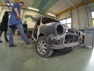 Restauration Mini Austin 1300 Injection 892911GOPR0066
