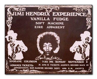 Spokane (Coliseum) : 8 septembre 1968 89298719680908Spokane