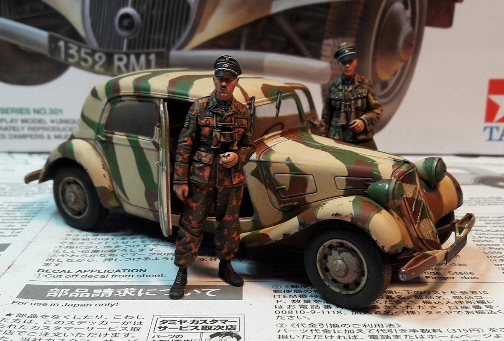 Citroën traction 11CV 1/35ème 893482Citroenfigs