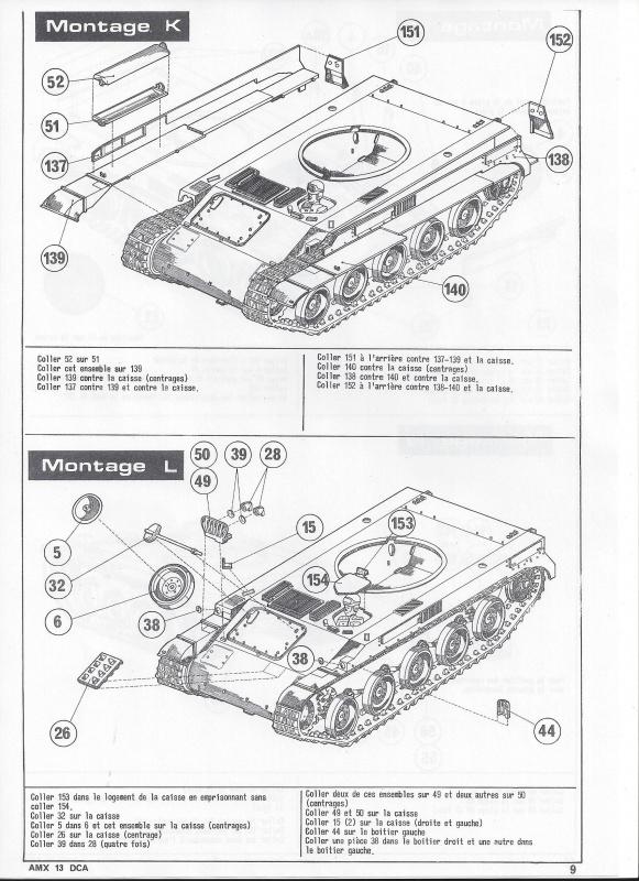 AMX 13 DCA - (Réf. L783) 1/35  893635AMX13DCA783010Heller135