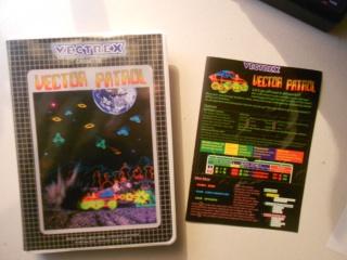 Vector patrol ( moon patrol )  sur vectrex  - Page 3 894166DSCN5211