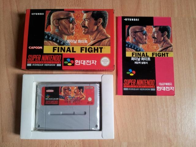 Prupru's Collection ! 100% Super Nintendo et 200% Super Comboy !! 896372FinalFight
