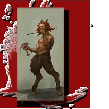 Bestiaire: Les créatures de la Grèce antique, entre Fantastique et réalité. 897071satyre