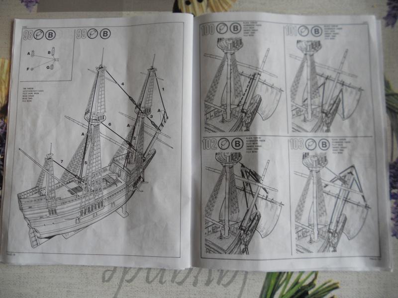 Pilgrim Ship MAYFLOWER Kit Revell au 1:83° 898579DSCN9550
