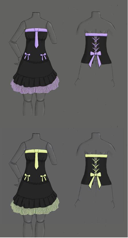 [demande aide] créer une robe gothic lolita pour MH 899119gothlolicouleurs