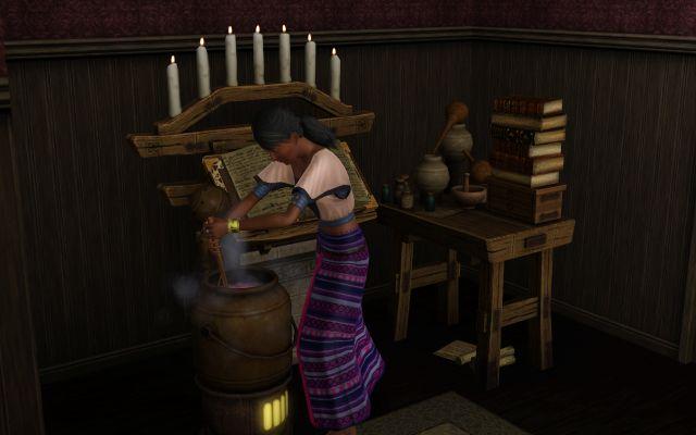 Les Sims 3 : Super-pouvoirs - Page 5 899124Entraindeprparerunelixir