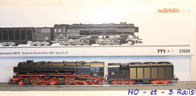 Les locomotives à vapeur articulées 899382Marklin37020LokmitTenderBauartMalletBr530012profileR