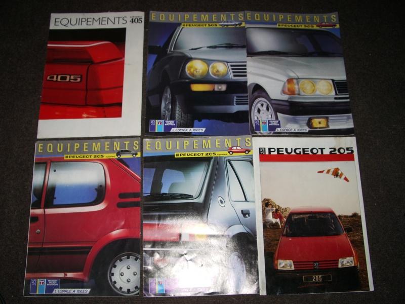 Vos revues/brochures/dépliants Peugeot 900402IMGP9957
