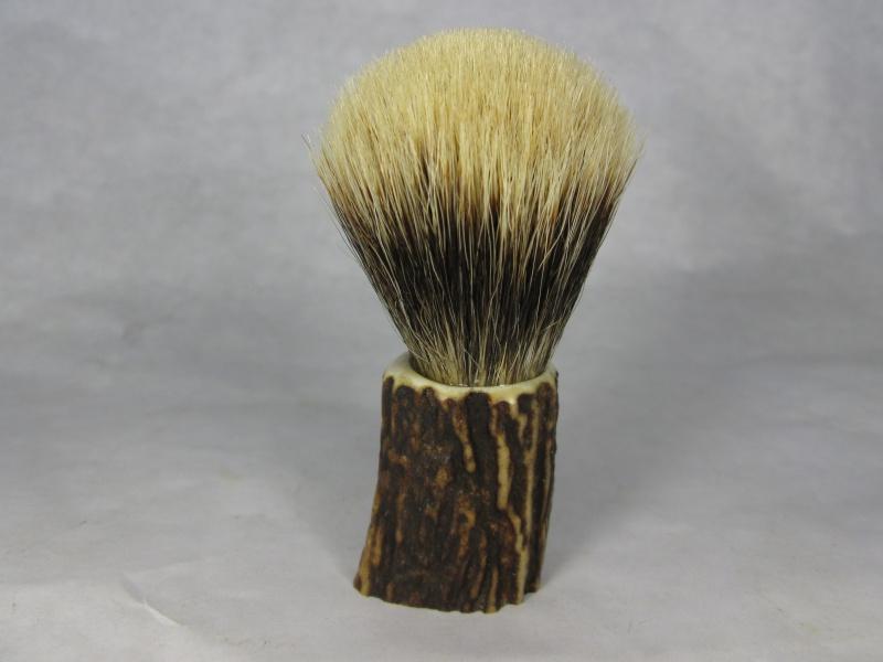 Création blaireau bois de cerf 900546IMG5320