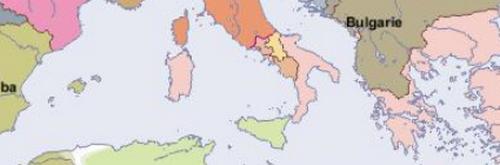 Carte de l'Europe en l'an 1000