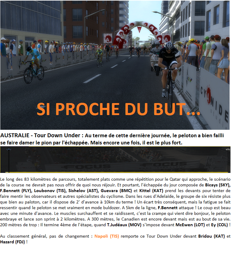 Quatuor UCI - Annonce 900723TDUE6