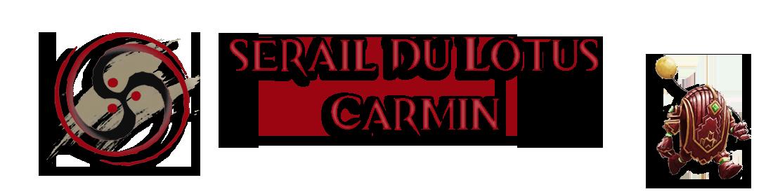 Le Sérail Du Lotus Carmin