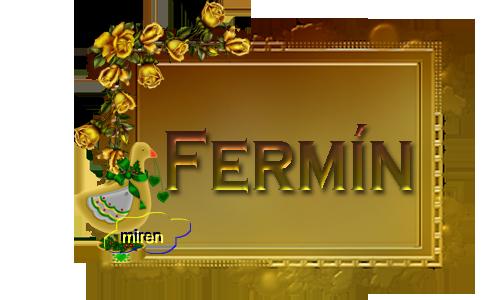 Nombres con F 9016162Fermn