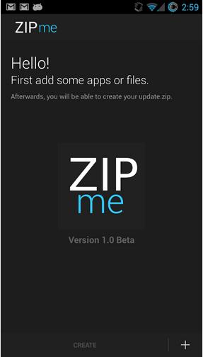 Restaurer vos données avec ZIPme 902117zip01