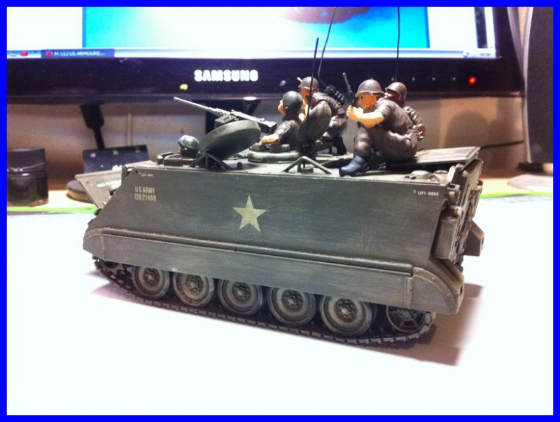 M 113 US ARMOURED PERSONNEL CARRIER 1/35 TAMIYA 902543photo4800x600