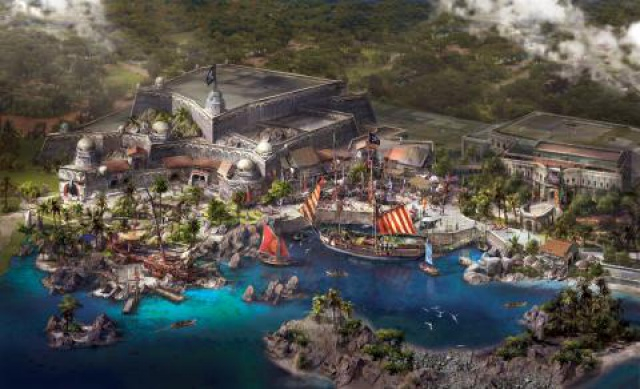 [Shanghai Disneyland] TREASURE COVE (POTC:...Sunken Treasure/Captain Jack's Stunt) - Page 2 902963tc1