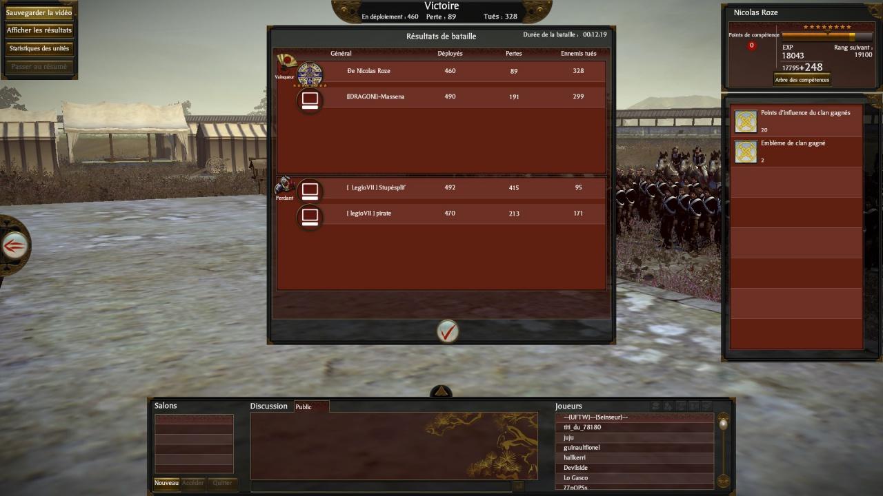 Clan [ legio VII ] 9034482012062300001