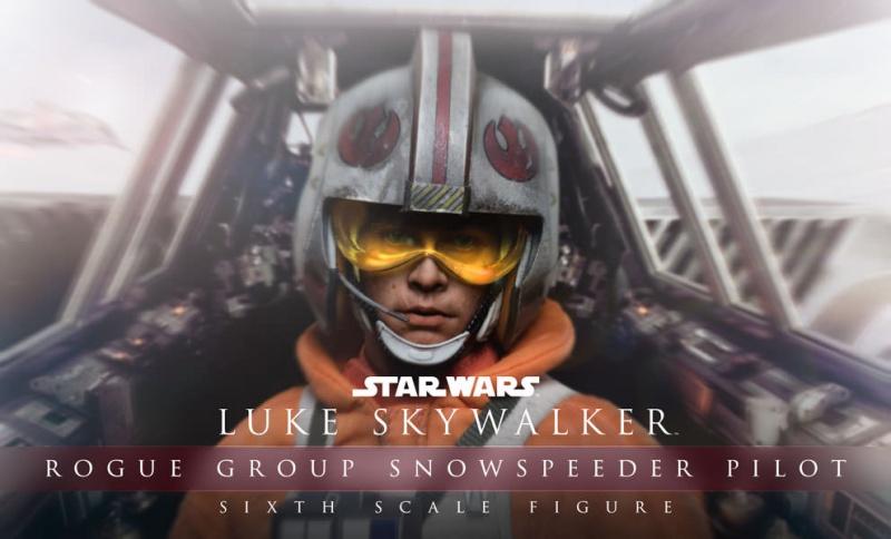 STAR WARS - LUKE SKYWALKER SNOWSPEEDER PILOT 904233starwarslukeskywalkerroguegroupsnowspeederpilotsixthscalefeature100117