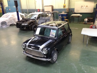 Restauration Mini Austin 1300 Injection 905416IMG6246