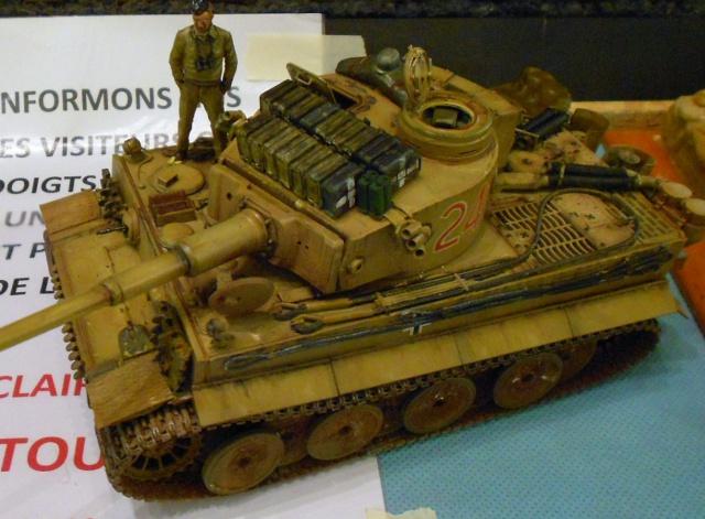 Tigre I en Tunisie (Tamiya 1/35e) 906455ExpoMaquettes2011162