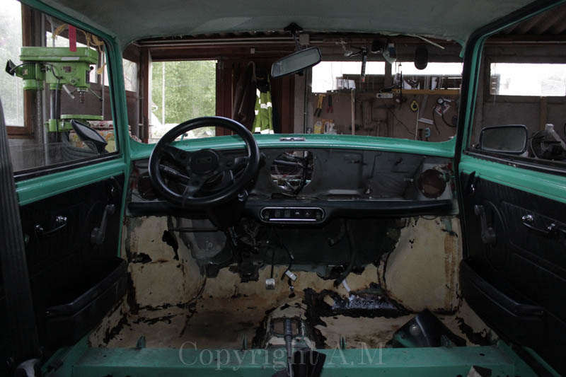 Restauration d'une Austin de 1980 906492IMG3288