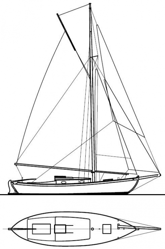 Construction d'un voilier motorisé 906927391955725