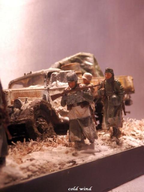 tracteur d artillerie soviétique chtz s-65 version allemande 1/35 trumpeter,tirant 2 blitz de la boue - Page 5 907068PA190045