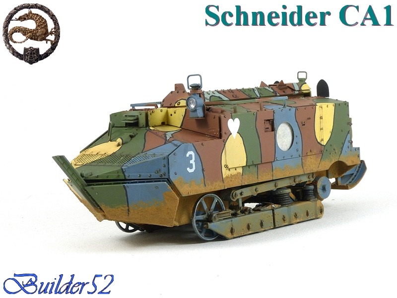 CHAR SCHNEIDER CA 1 - HOBBY BOSS 1/35 907147P1040958