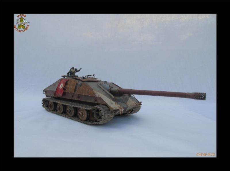 E-100 Jagdpanzer Krocodil 1/35 trumpeter 907185Sanstitre11GF